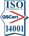 Certification mark ISO 14001