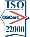 Certification mark ISO 22000